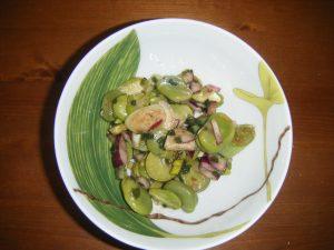 Salade inspirée par ma tante.